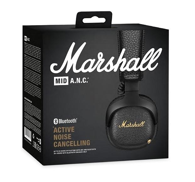 Marshall Mid A.N.C. - тип излучателей: динамические