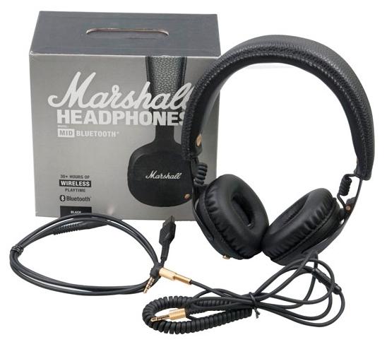 Marshall Mid Bluetooth - диапазон воспроизводимых частот: 10-20000Гц