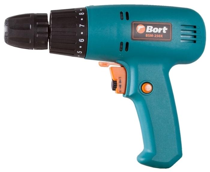 Bort BSM-250X, 280 Вт - макс. диаметр сверления (дерево): 15мм