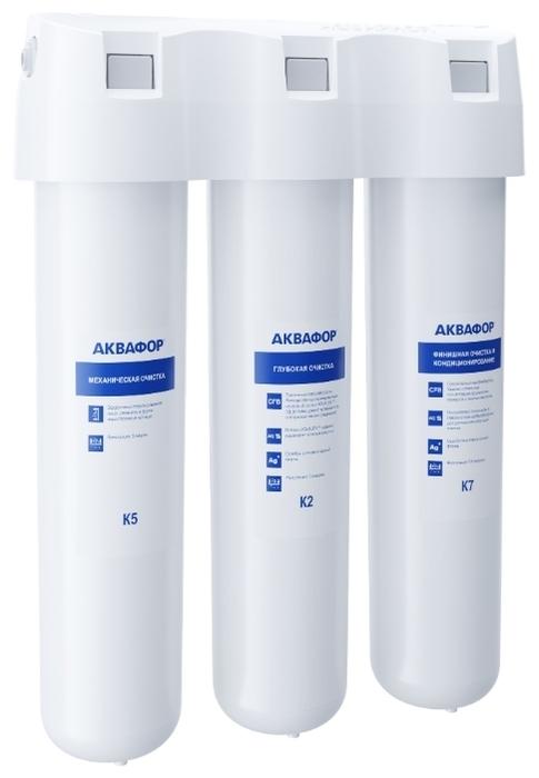 Аквафор Кристалл А - функция очистки: очистка от свободного хлора, механическая фильтрация, угольная фильтрация