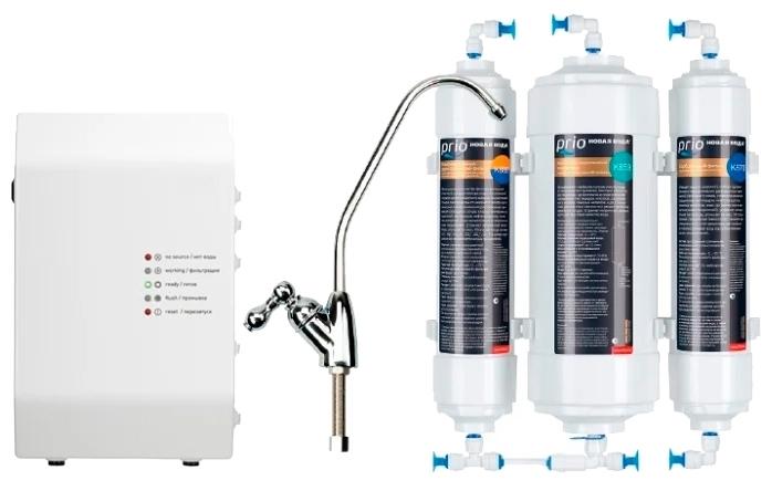 Prio Новая Вода Econic Osmos Stream OD360 с обратным осмосом - ресурс фильтрующего модуля: