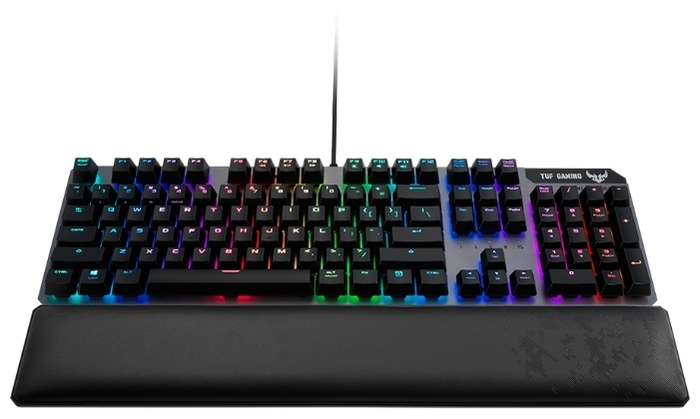 ASUS TUF Gaming K7 Linear switch - защита: от воды и пыли