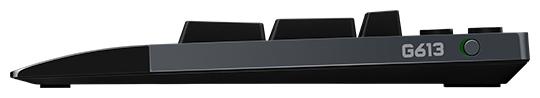 Logitech G G613 Wireless Black USB - количество клавиш: 124, с цифровым блоком