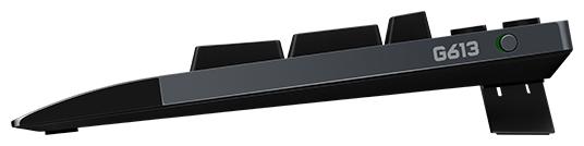 Logitech G G613 Wireless Black USB - количество дополнительных клавиш: 20