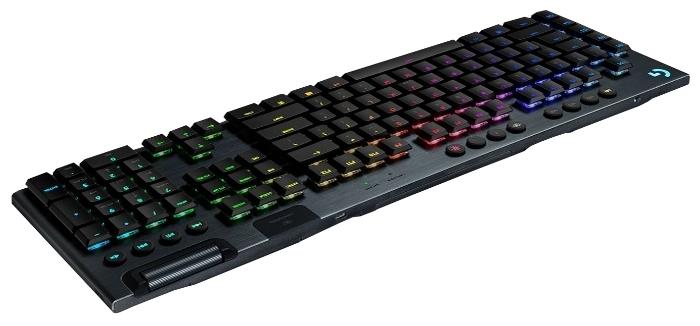 Logitech G G915 Tactile Switch RGB Black USB - ход клавиш: 2.7мм