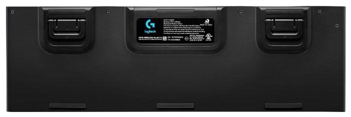 Logitech G G915 Tactile Switch RGB Black USB - размеры: 475x22x150мм, вес: 1025г