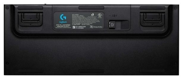 Logitech G G915 TKL Carbon - ход клавиш: 2.7мм