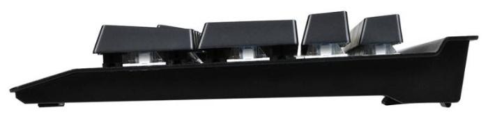 OKLICK 920G Iron Edge Black USB - размеры: 446x33x170мм, вес: 1395г