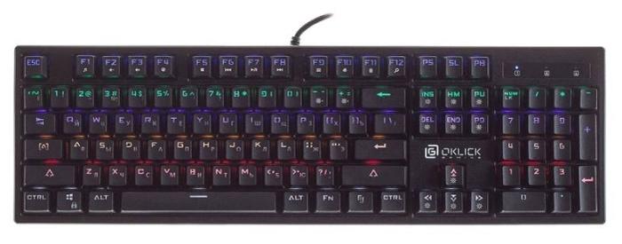 OKLICK 940G VORTEX Black USB - тип: механическая