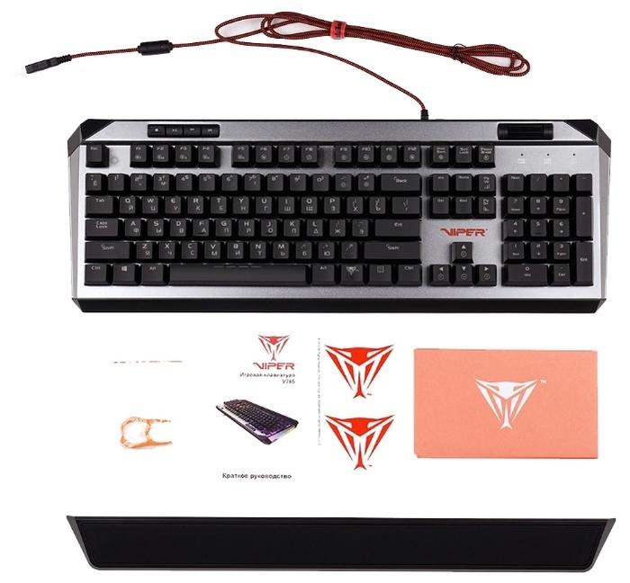 Patriot Memory Viper V765 RGB - особенности: регулятор уровня громкости