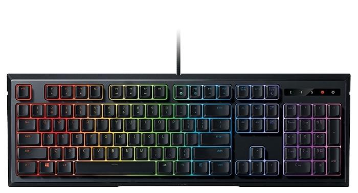 Razer Ornata Chroma Black USB - количество клавиш: 104, с цифровым блоком