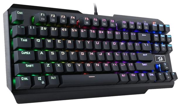 Redragon USAS Black USB - количество клавиш: 87