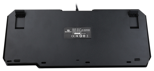 Redragon USAS Black USB - размеры: 364x37x153мм
