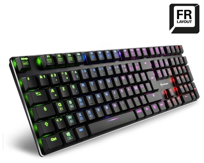 Sharkoon PureWriter RGB (Kailh Red) Black USB - количество дополнительных клавиш: 4