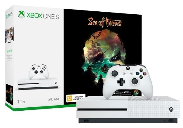 Microsoft Xbox One S 1 ТБ - размеры (ШxВxГ): 295x65x230мм