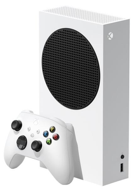 Microsoft Xbox Series S 512 ГБ - тип: стационарная без оптического привода