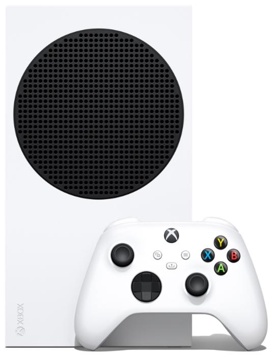 Microsoft Xbox Series S 512 ГБ - объем встроенной памяти: 512ГБ SSD