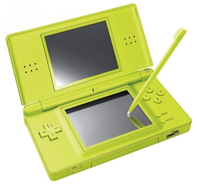 Nintendo DS Lite - время работы: 19ч