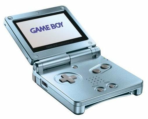 Nintendo Game Boy Advance SP - тип: портативная