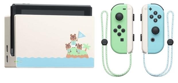 Nintendo Switch 32 ГБ Особое издание Animal Crossing: New Horizons - время работы: 6ч