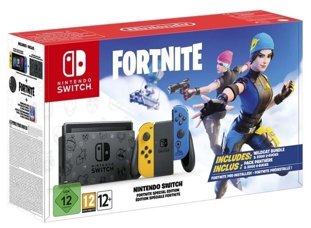 Nintendo Switch 32 ГБ Особое издание Fortnite - тип: портативная