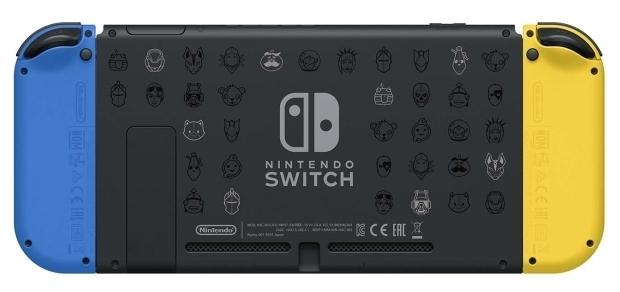 Nintendo Switch 32 ГБ Особое издание Fortnite - объем встроенной флэш-памяти: 32ГБ
