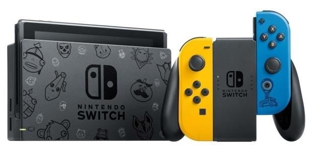 Nintendo Switch 32 ГБ Особое издание Fortnite - время работы: 6ч
