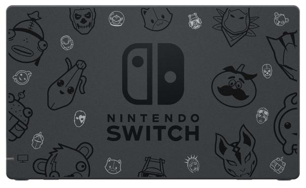 Nintendo Switch 32 ГБ Особое издание Fortnite - поддерживаемые карты памяти: microSD, microSDHC, microSDXC