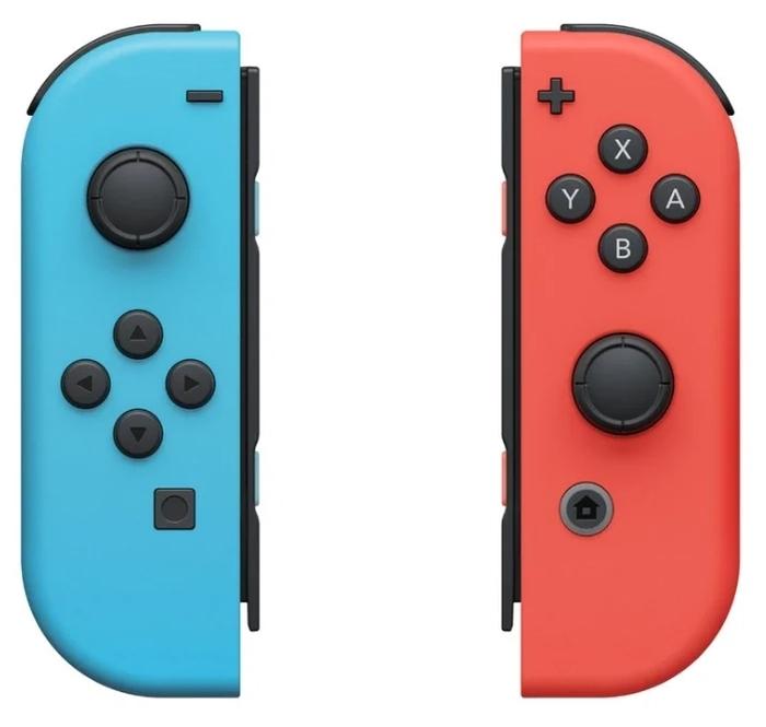 Nintendo Switch rev.2 32 ГБ - вес: 297г