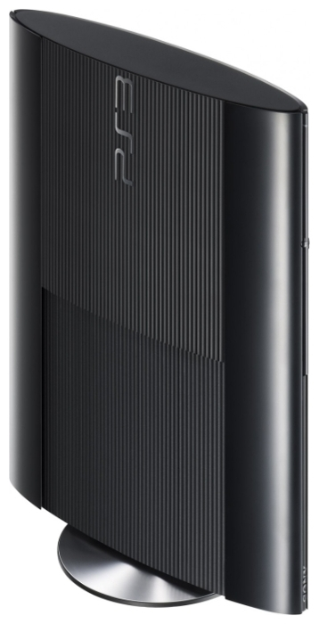 Sony PlayStation 3 Super Slim 12 ГБ - размеры (ШxВxГ): 290x60x230мм