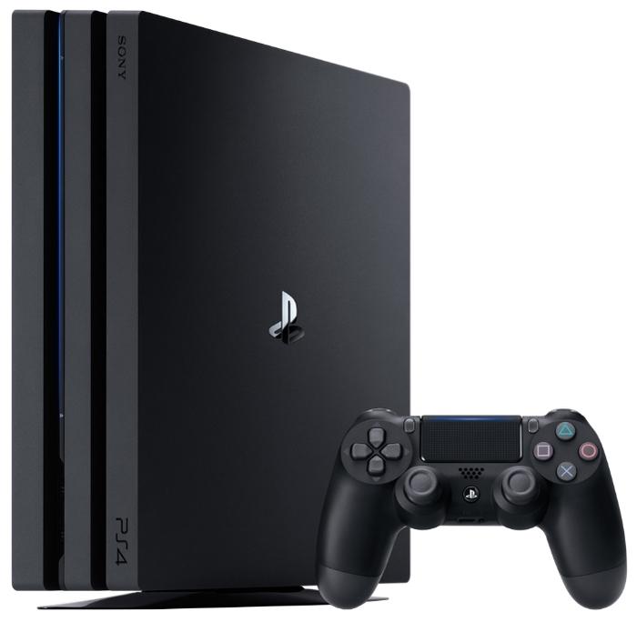 Sony PlayStation 4 Pro 1 ТБ - тип: стационарная c оптическим приводом