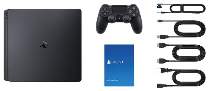 Sony PlayStation 4 Slim 1 ТБ - проводные интерфейсы: USB x2, HDMI 1.4, Ethernet