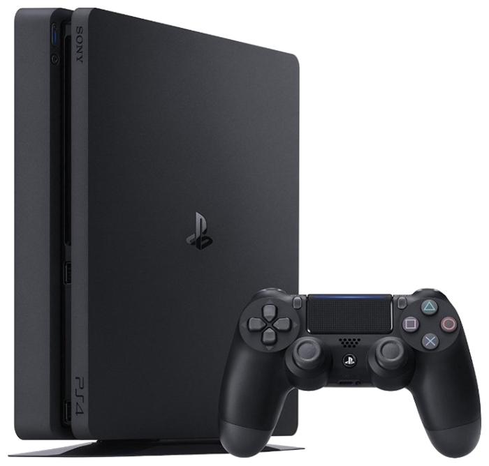 Sony PlayStation 4 Slim 500 ГБ - тип: стационарная c оптическим приводом