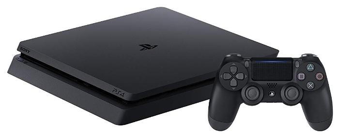 Sony PlayStation 4 Slim 500 ГБ - объем встроенной памяти: 500ГБ HDD