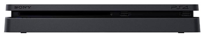 Sony PlayStation 4 Slim 500 ГБ - беспроводные интерфейсы: Bluetooth, Wi-Fi 802.11ac 2.4ГГц, 5ГГц