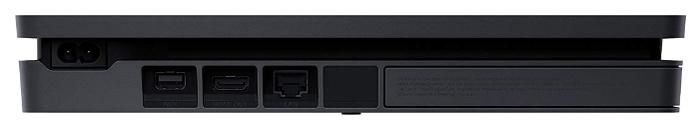 Sony PlayStation 4 Slim 500 ГБ - проводные интерфейсы: USB x2, HDMI 1.4, Ethernet
