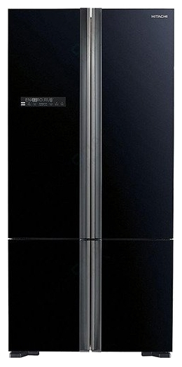 Hitachi R-WB732PU5GBK - ШхВхГ: 86х183.50х77.70см