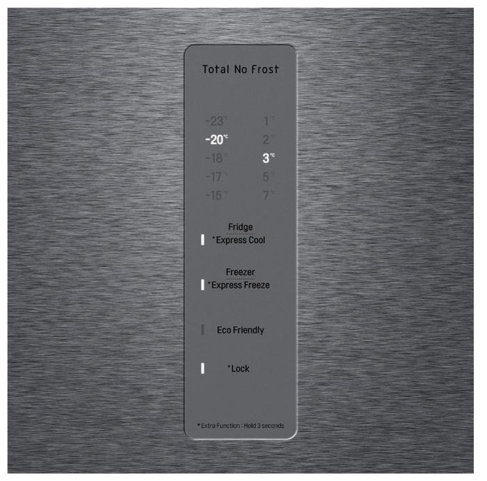LG DoorCooling+ GA-B509CLWL - класс энергопотребления: A+