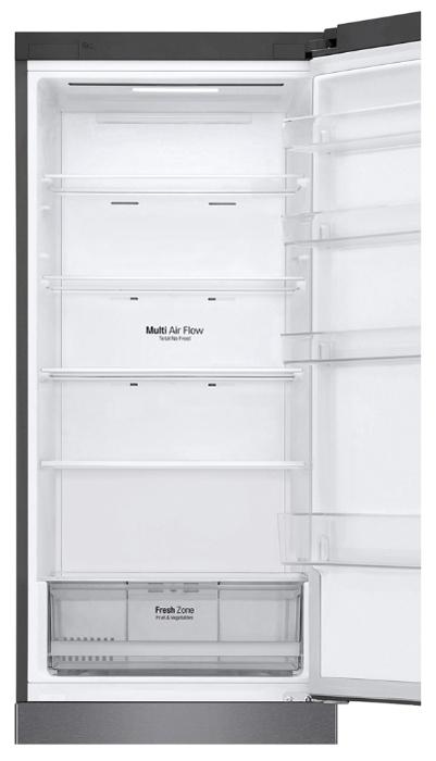 LG DoorCooling+ GA-B509CLWL - объем холодильной камеры: 277л