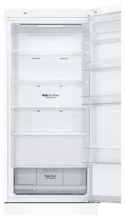 LG DoorCooling+ GA-B509CQWL - объем холодильной камеры: 277л