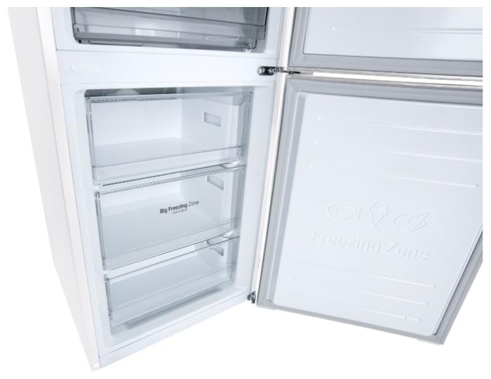 LG DoorCooling+ GA-B509CQWL - мощность замораживания: 12кг/сутки