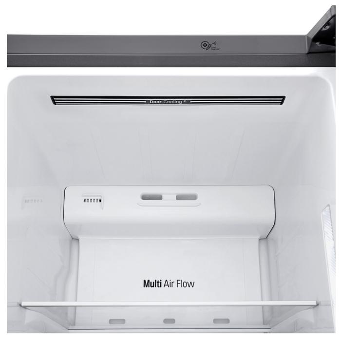 LG DoorCooling+ GC-B247SMDC - объем холодильной камеры: 406л