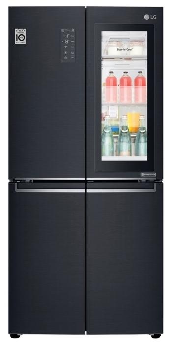 LG DoorCooling+ GC-Q22 FTBKL - класс энергопотребления: A+