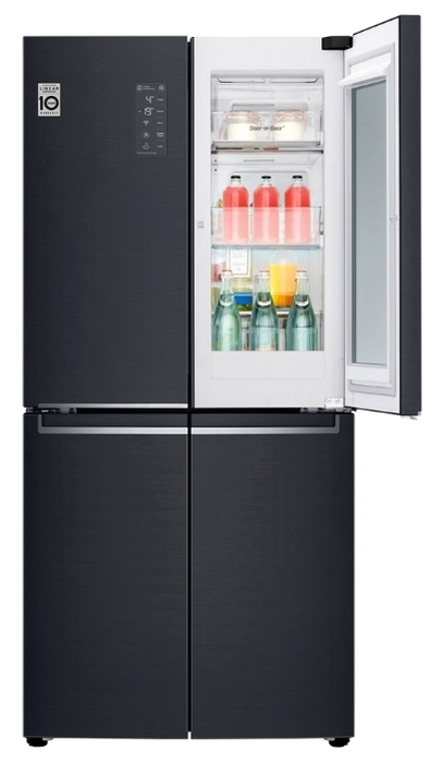 LG DoorCooling+ GC-Q22 FTBKL - No Frost