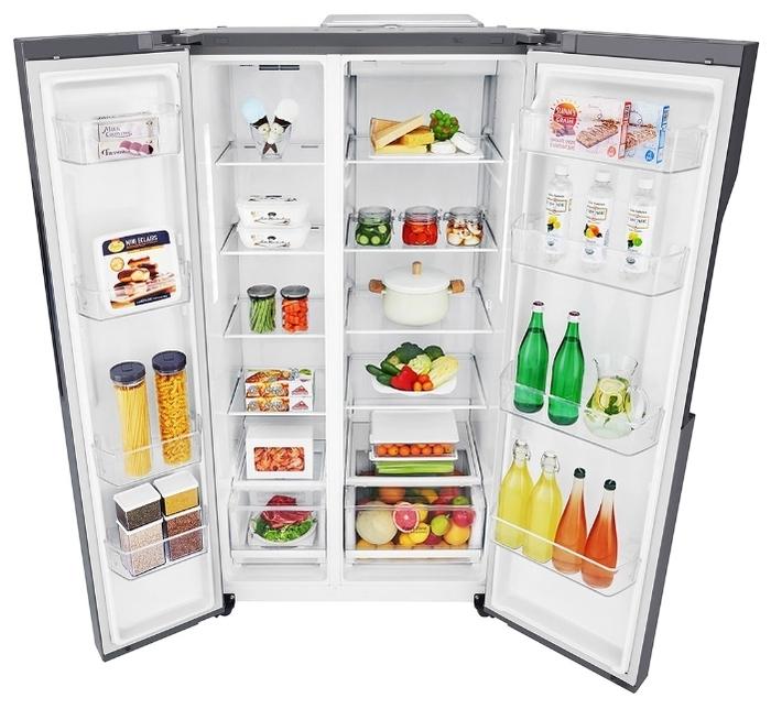 LG GC-B247 JLDV - объем холодильной камеры: 394л