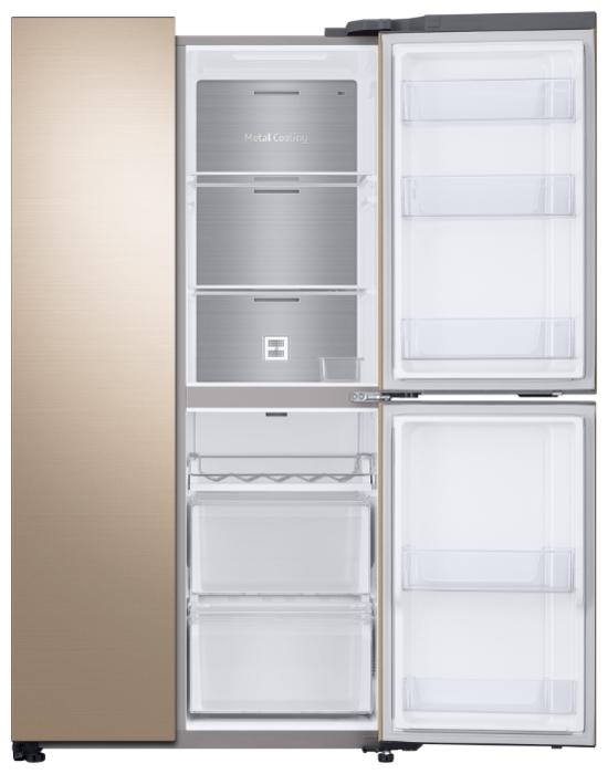 Samsung RS63R5571F8 - объем холодильной камеры: 405л