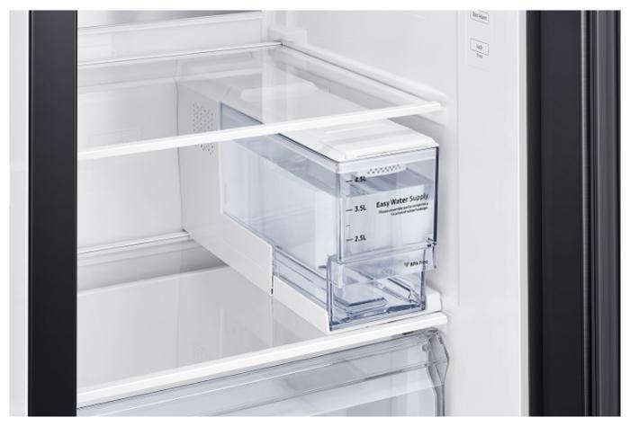 Samsung RS64R5331B4 - объем морозильной камеры: 202л