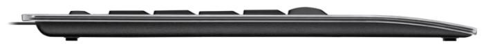 Logitech Illuminated Keyboard K740 Black USB - кабель: USB (1.8м)
