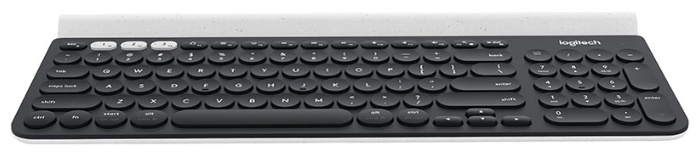 Logitech K780 Multi-Device Wireless Keyboard Black Bluetooth - подключение: беспроводная (Bluetooth)