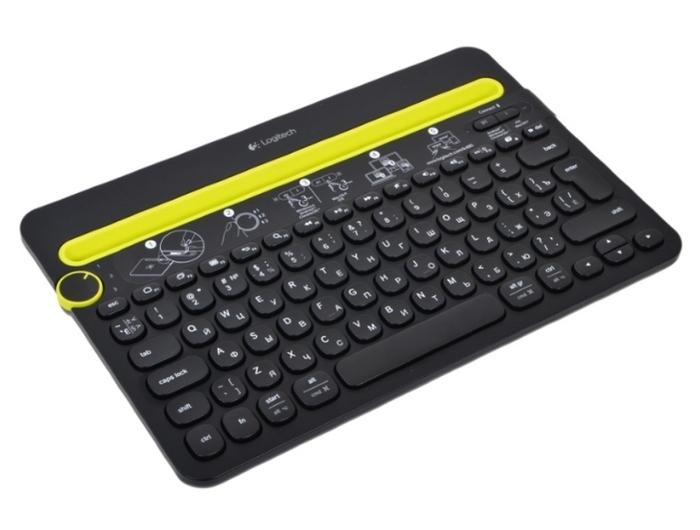 Logitech Multi-Device Keyboard K480 Black Bluetooth - тип: мембранная